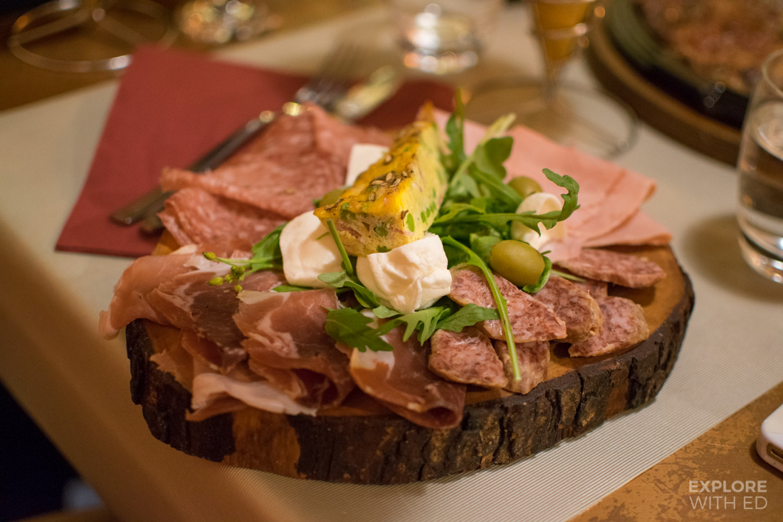 Restaurant recommendations in Rome, Cured meat platters in Italy