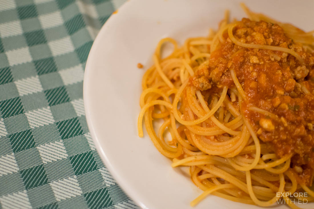 Places to eat pasta in Trastevere