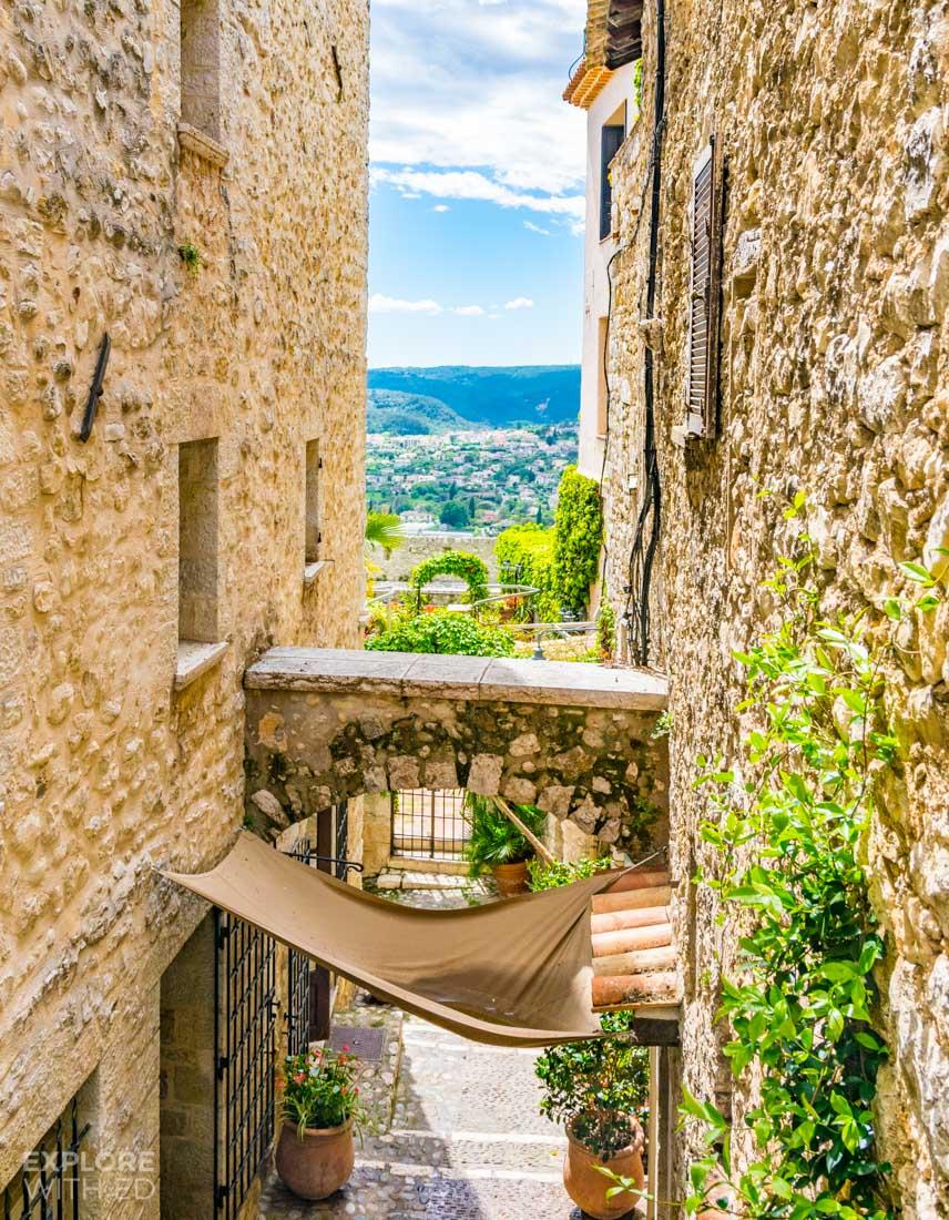 Hillside villages in Southern France