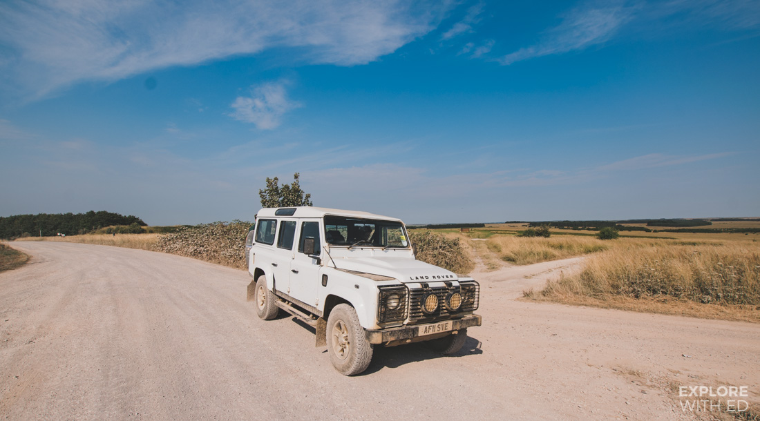Land Rover Defender, Salisbury Plains Safaris