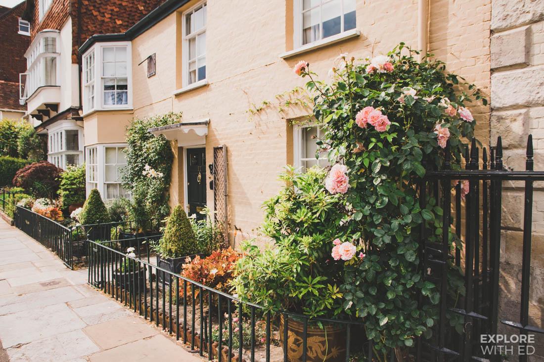Quaint houses in Salisbury