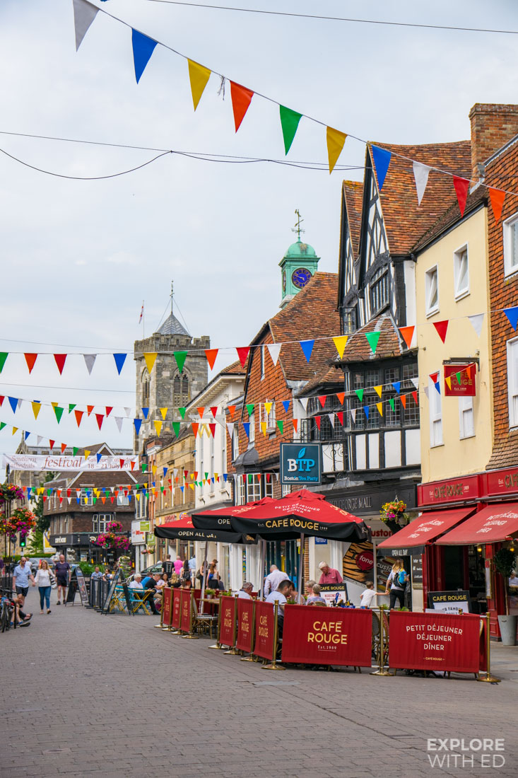 Cafe Rouge and Boston Tea Party in Salisbury