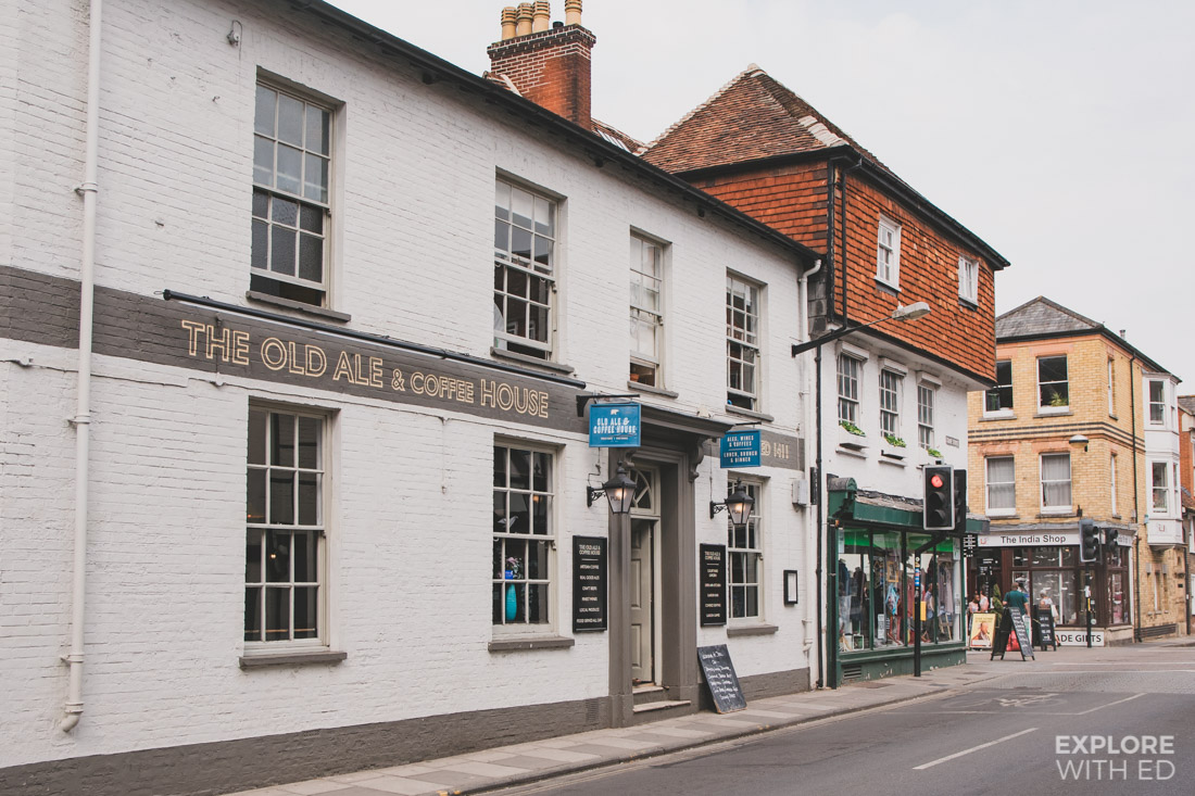 The Old Ale and Coffee House in Salisbury