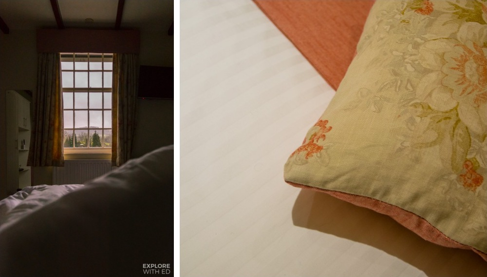 Comfortable bedding at The Swan at Hay