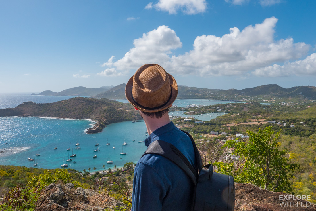 Tui Sensatori Collaboration by Travel Blogger 'Explore With Ed' featured here in Antigua's Shirley Heights