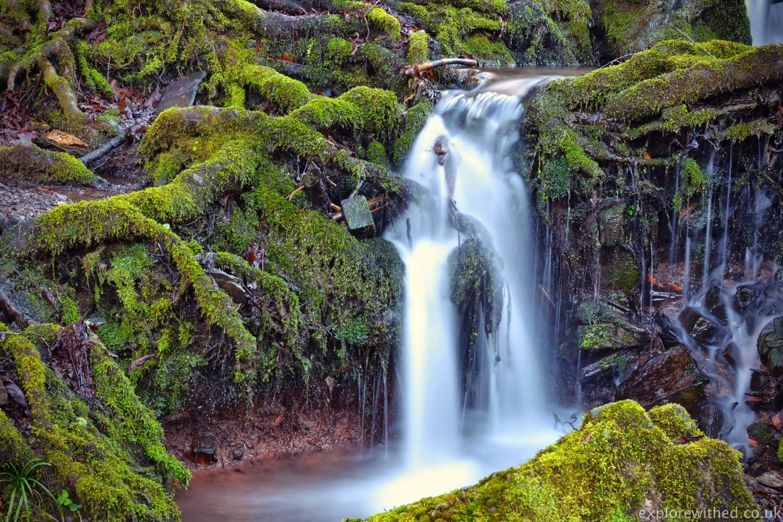 Long exposure shot of a stream