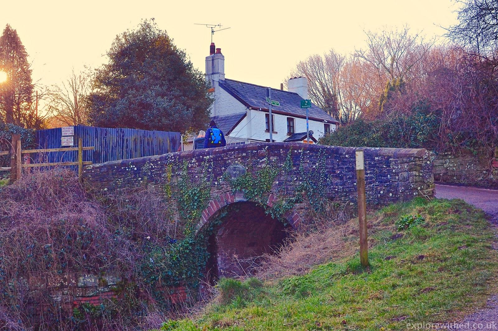 Fourteen Locks Bridge and Cottage