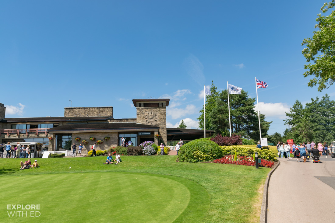 Golf shop at The Celtic Manor Resort