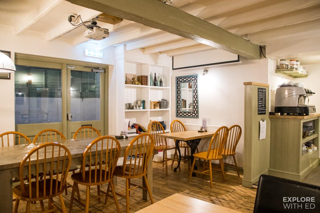 The Old Swan Inn Restaurant Interior