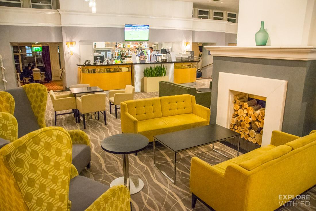 Coldra Court Hotel Lobby