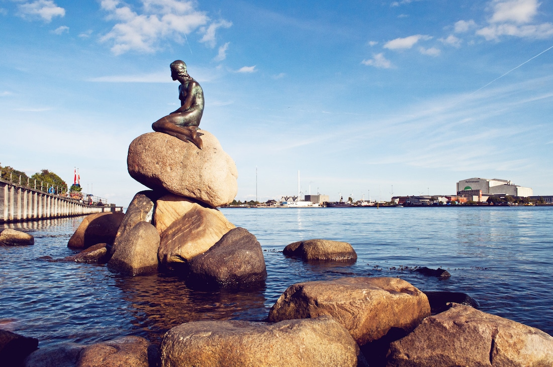 The Little Mermaid sculpture, Copenhagen  Little Mermaid
