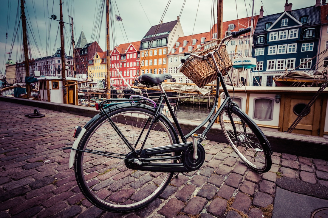 The Nyhavn in Copenhagen