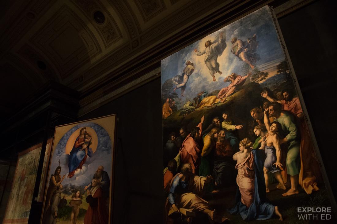 Amazing religious artwork in Vatican Museum