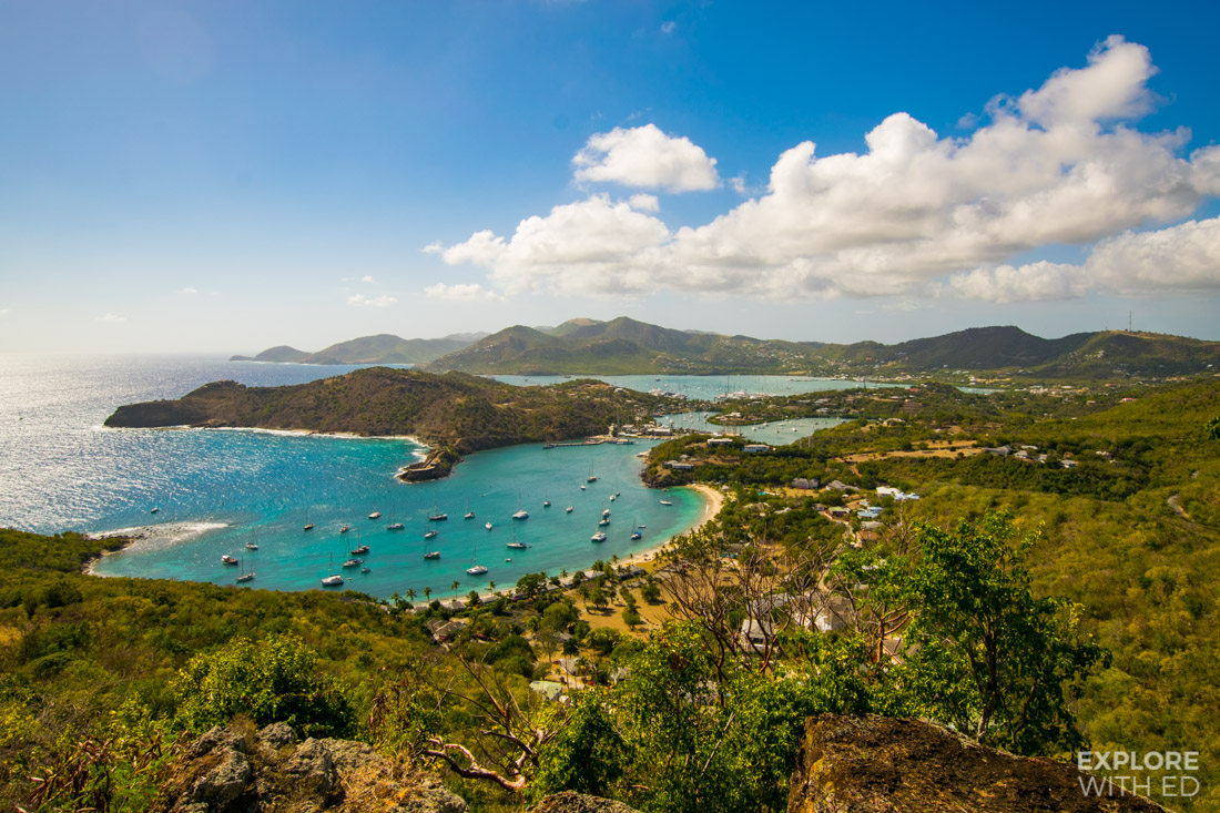 Shirley Heights Viking Cruises excursion in Antigua