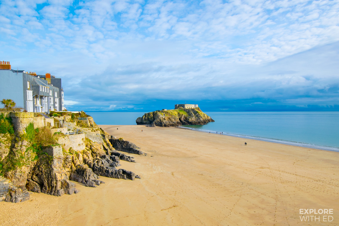 Tenby Beach and Island