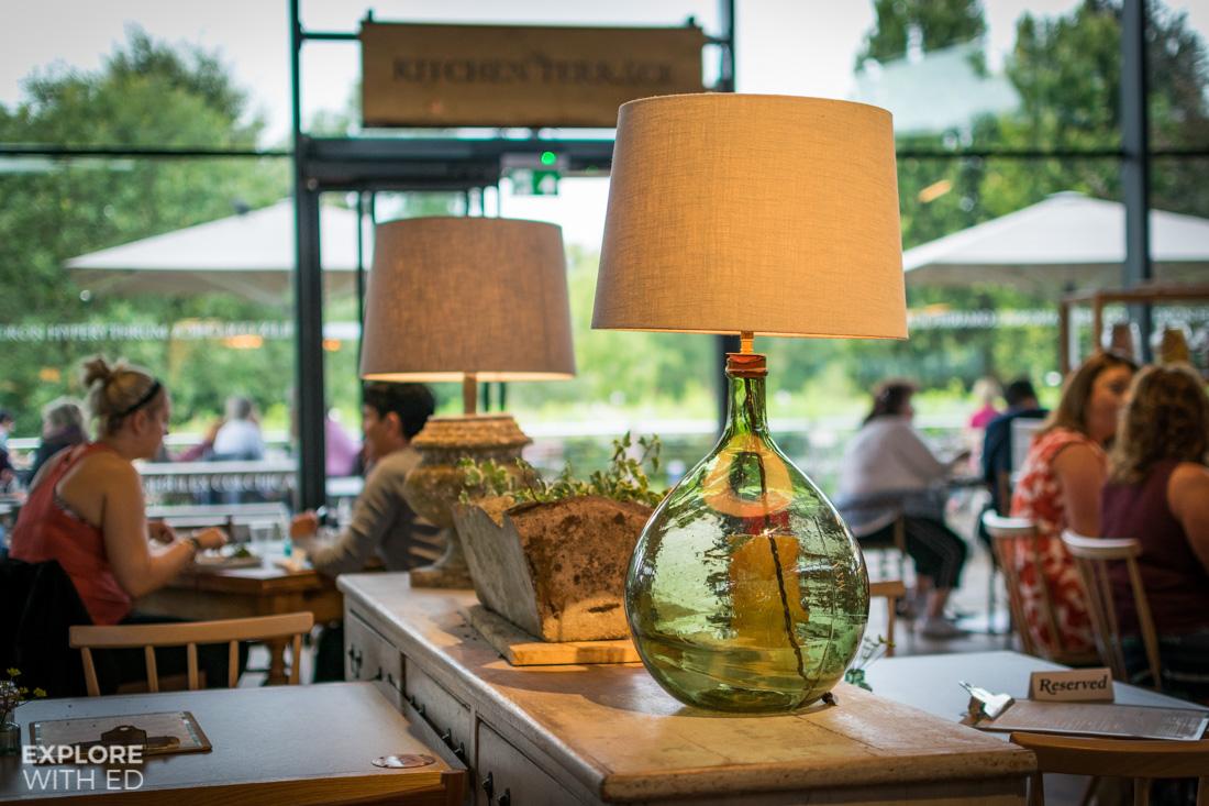 Inside the stylish and modern Savill Garden Kitchen