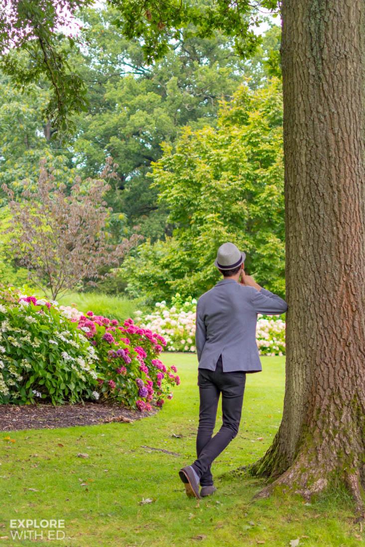 Wandering through the summer woods at The Savill Garden