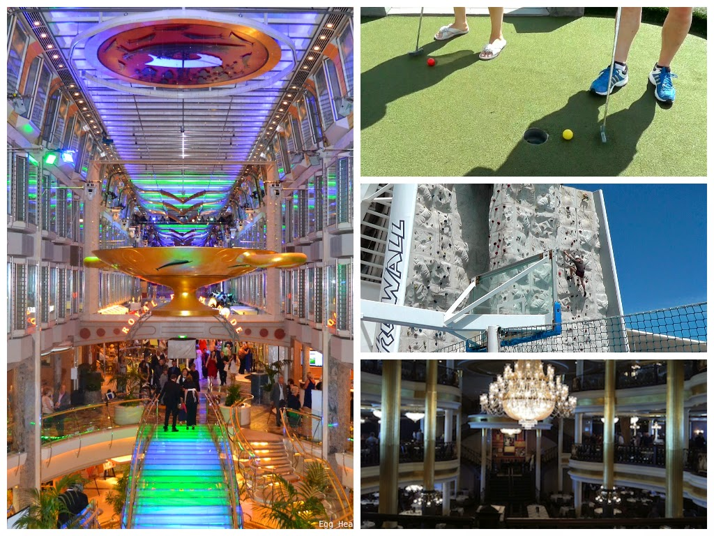 Inside Independence of the Seas