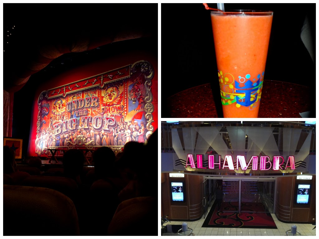 Alhambra Theatre Under the Big Top Circus Show