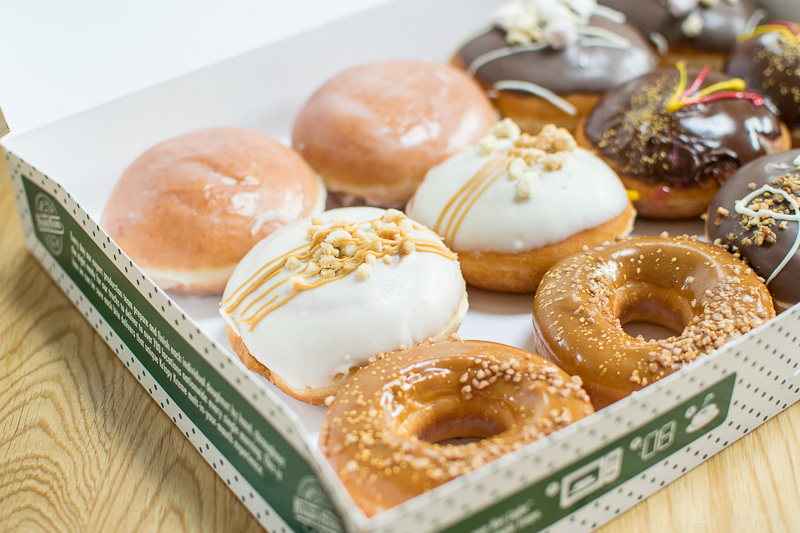 Krispy Kreme Box of New Flavours