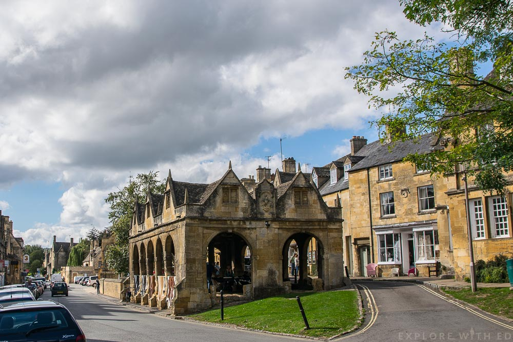Chipping Campden Old Market Hall, National Trust Buildings in The Cotswolds