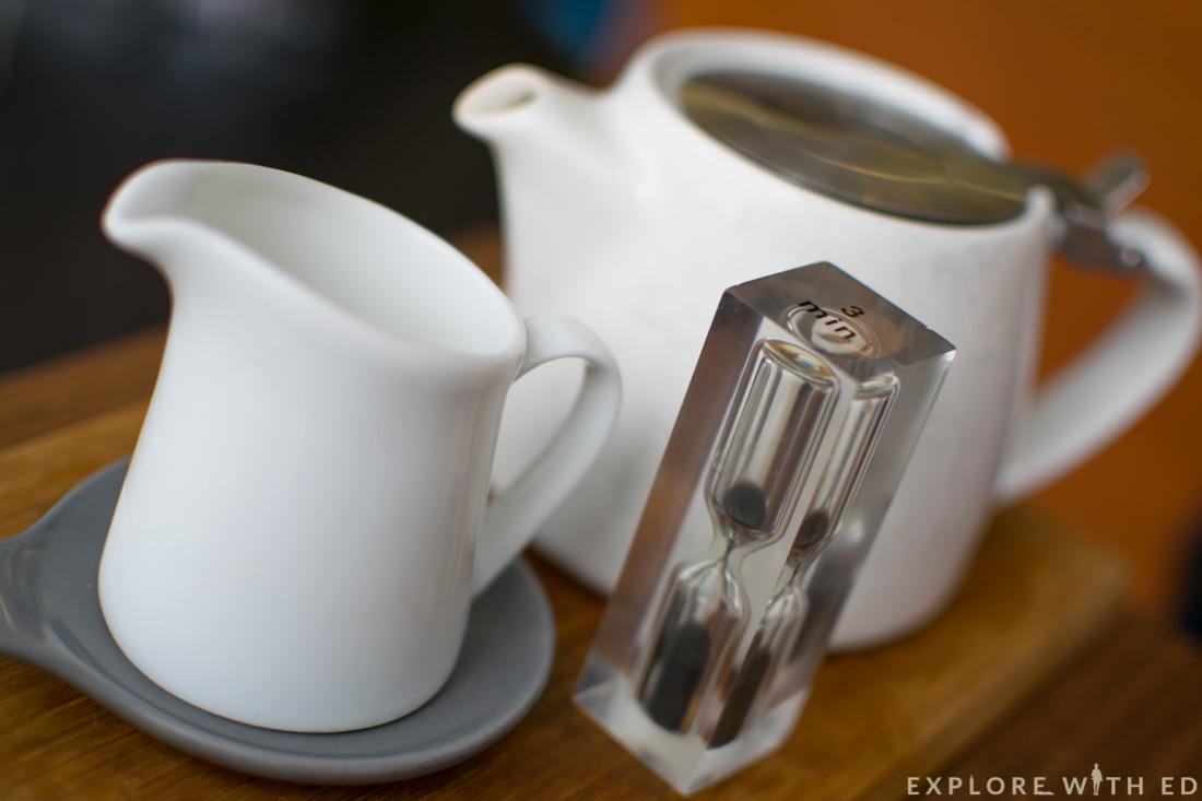 Waterloo tea at Cocorico Cardiff, Assam Tea