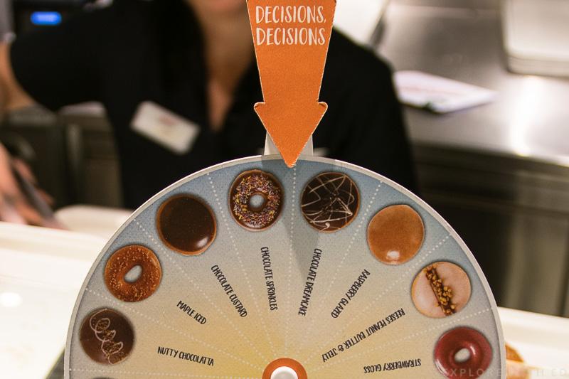Krispy Kreme doughnut decider