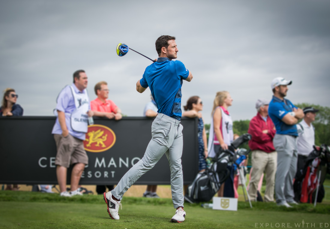 Michael Jamieson, Celebrity Cup at Celtic Manor