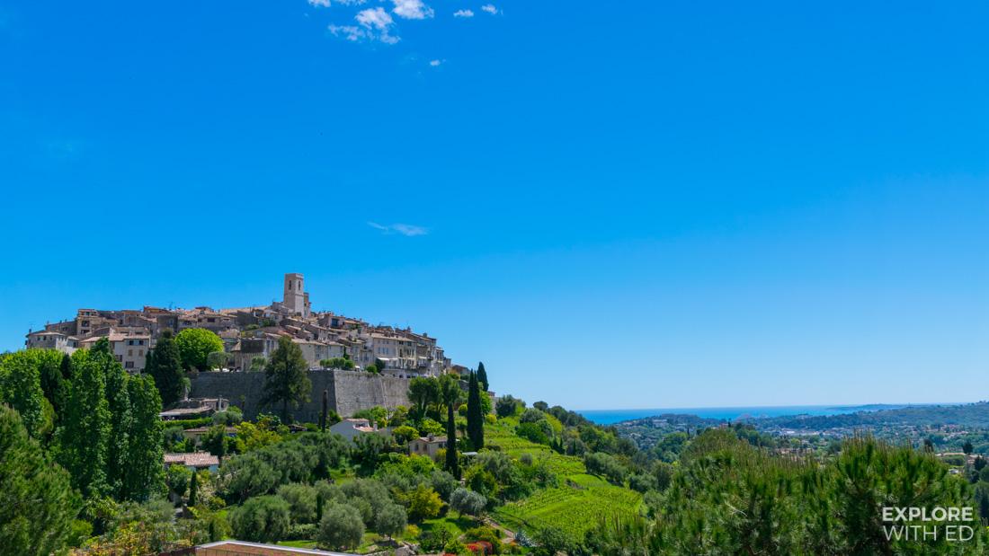 Hilltop village in Southern France